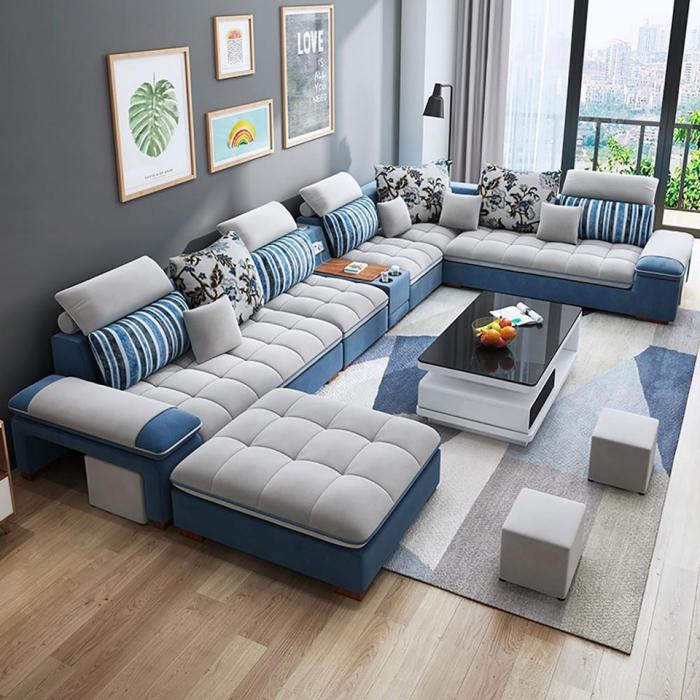 A sala de estar ideal